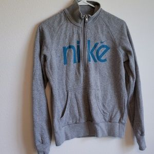 Girls 12-14 NIKE half zip Sweatshirt